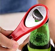 pista de racquetball raqueta forma de la botella abridor (color al azar) 9,5 * 4 * 0.5 cm