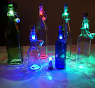 Cork Shaped Rechargeable USB LED Night Light Empty Wine Bottle Lamp