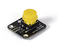 Crab Kingdoms ck002 Keyboard Keys Module Compatible With Digital Electronic Components Development Board Material 5 Color And Guests  (yellow