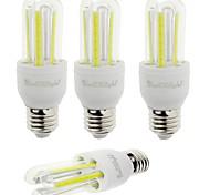 E26/E27 LED Corn Lights T 6 leds COB Decorative Cold White 600lm 6000K AC 85-265V