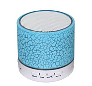 cheap -A9 Mini Portable Super Bass Bluetooth 3.0 USB HDMI Speaker Wireless bluetooth speaker Green White Light Blue Light Pink