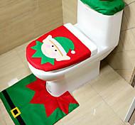 Рождественская оригинальность трехсекционный модель туалета Эльф
