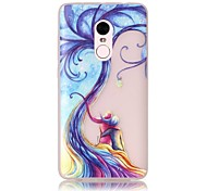 For Xiaomi Redmi Note 4 Pro Glow in the Dark Translucent Case Back Cover Case Young Couple Tree Soft TPU