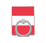 австрийский флаг модель пластиковый держатель кольца / 360 вращающийся для мобильного телефона iphone 8 7 samsung galaxy s8 s7