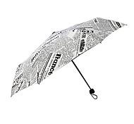 Newspaper Umbrella  Trendy and Convenient  Folding Newspaper Umbrella in English  The Supply of British Fashion Personality