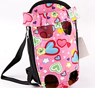 Кошка Собака Переезд и перевозные рюкзаки передняя Рюкзак Животные Корпусы Компактность Милые Любовь Розовый
