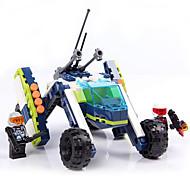 GUDI8225 Action Figures & Stuffed Animals Building Blocks Balls Toys Tank Boys' Girls' Pieces