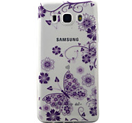 For Samsung Galaxy J5 J3 (2016) Case Cover Butterflies Pattern Painted TPU Material Phone Case