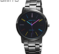 cheap -Stainless Steel Band Watch Women Colorful Dress Watches Brand Ladies Elegance Watch Charms Luxury Geneva Watch Wrist Watch Cool Watch Unique Watch