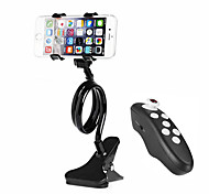 Desktop Clip-on Flexible Cellphone Holder / Cellphone Bluetooth Control for Mobile Phone