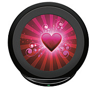 Qi Wireless-Schnelllade Pad 5v 2a für Samsung-Galaxie s6edge Anmerkung 5 s7 s7 Rand