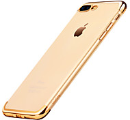 Original Hoco Glint Series Electroplated TPU Back Cover Protective Case for iPhone 7 iPhone 7 Plus