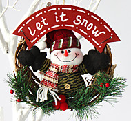 Рождественский венок хвою Новогоднее украшение для диаметра домой партия 20см NAVIDAD новые поставки год