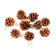 9Pcs Christmas Decoration Gifts Role Ofing Christmas Tree Ornaments Christmas Gift Christmas Pinecone