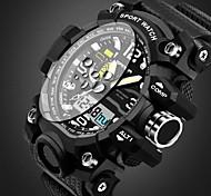 Недорогие -SANDA Мужской Дети Спортивные часы Армейские часы Смарт-часы Модные часы Наручные часы КварцевыйКалендарь Защита от влаги тревога