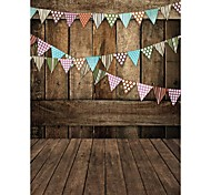 Brown wood Background Photo Studio  Photography Backdrops 5x7FT