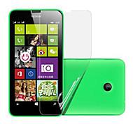 (3 piezas) Protector de pantalla de alta definición para Nokia Lumia 630/635