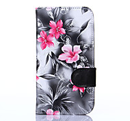 For Samsung Grand Neo Plus i9060 Grand i9082 Case Cover Flowers PU Leather Mobile Phone Holster