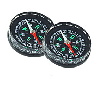2Pcs/lot Hiking Outdoor Scouts Kit Plastic Clear Liquid Filled Camping Compass