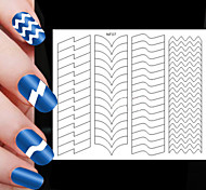 63pcs различные размеры профессиональная модель решений ногтей инструмент # 07