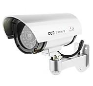 kingneo 2pcs белый беспроводной поддельные манекен камеры безопасности CCTV купола свет водить