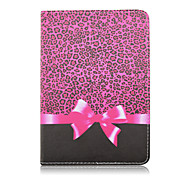cheap -Case For Note 8.0 Samsung Galaxy Tab A 8.0 Tab S2 8.0 Shockproof with Stand Auto Sleep / Wake Magnetic Pattern Full Body Cases Leopard