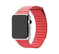 Watch Band for Apple Watch Series 3 / 2 / 1 Apple Wrist Strap Leather Loop