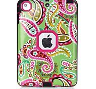 Für Wasser / Dirt / Shock Proof Muster Hülle Handyhülle für das ganze Handy Hülle Blume Hart TPU für Apple iPad Mini 3/2/1