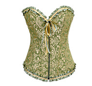 Corset Classic/Traditional Lolita Green Lolita Accessories For Satin