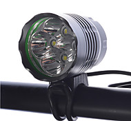 LED Flashlights/Torch Headlamps Bike Lights LED Cree XM-L T6 Cycling Rechargeable Compact Size Super Light Dimmable 18650 4000 Lumens
