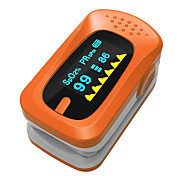 SPortguard Нажатием Пульсоксиметр SpO2 Монитор сердечного ритма - оранжевый