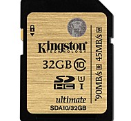 Недорогие -Kingston 32 Гб SD-карта карта памяти UHS-I U1 Class10