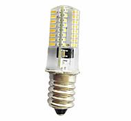 abordables -E14 E12 E11 Luces Decorativas T 64 SMD 3014 380 lm Blanco Cálido Blanco Fresco K Regulable AC220 V