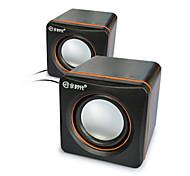 JITENG E-02A  Hot Computer HIFI Speaker Stereo Notebook Desktop Laptop Speakers