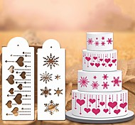 1Pcs Cake Embossing Mould  DIY Baking Necessary  Heart Shaped  Mould For Make  A Cake High Quality 29.5Cm*10Cm