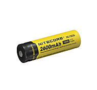 nitecore nl1826 2600mah 3.7v 9.6wh 18650 литий-ионная аккумуляторная батарея