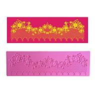 цветочная цепочка украшение кружевной коврик lfm-35 лепешка, инструмент для выпечки