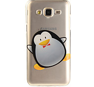 For Samsung Galaxy J5 J5(2016) J3 J3(2016) G530 Case Cover Penguin Pattern IMD Process Painted TPU Material Phone Case