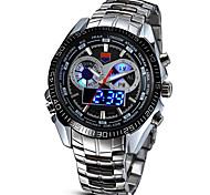 baratos -Masculino Relógio Esportivo Relógio Militar Relógio Elegante Relógio de Moda Relógio de Pulso Relogio digital Digital LED Lega Banda