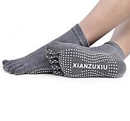 Недорогие -Муж. Носки с пальцами Носки Анти-скольжение Впитывает пот и влагу для Йога