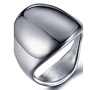Unisex Fashion 316L Titanium Steel Personality Vintage Glaze Jewel Rings Casual/Daily Accessory 1pc
