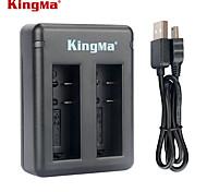 Kingma BM037 Dual-Slot Battery Charger for Xiaomi Xiaoyi and AZ16-1 Battery --Black