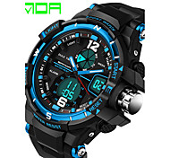 Men's Fashion Watch Digital Watch Sport Watch Dress Watch Quartz Digital Calendar / date / day Water Resistant / Water Proof Silicone Band