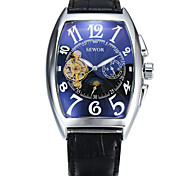 Women's Sport Watch Dress Watch Fashion Watch Calendar Large Dial Automatic self-winding Genuine Leather Band Vintage Casual Multi-Colored