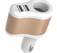 Недорогие -Другое Телефон USB-зарядное устройство Несколько портов cm Магазины 2 USB порта 3.1A DC 12V-24V