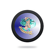 Portable Blue Mermaid Wireless Charging Pad/Stand for All QI-Enabled Devices Samsung Galaxy S7  S7 Edge S6   S6 EdgeGoogle Nexus 4  5