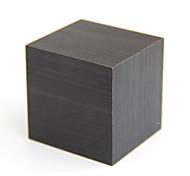 Недорогие -raylinedo® последняя конструкция способа черного дерева куб мини-синий индикатор дата температуры дисплея деревянная цифровой будильник