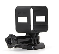 TELESIN Protective Frame Housing Case for Polaroid Cube , Compatible tripod for Most Go Pro Accessories