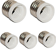 cheap -E27 to E14 Small Screw Converter Base Holder Socket for LED Light Lamp (5 Pieces)