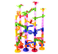 cheap -Building Blocks Board Game Marble Track Set Marble Run Toys Novelty Cylindrical ABS High Quality 105 Pieces Girls' Boys' Christmas New